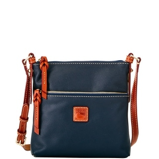 Dooney & Bourke Calf Letter Carrier (Introduced by Dooney & Bourke at $168 in Apr 2016) - Navy