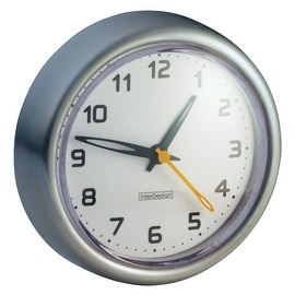 InterDesign Forma Suction Clock