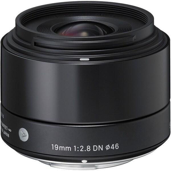 Sigma 19mm f/2.8 DN Lens for Sony E-mount Cameras (Black) - black