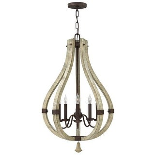 Fredrick Ramond FR40575 5 Light 1 Tier Candle Style Chandelier from the Middlefi