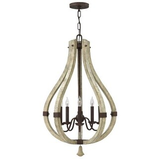Fredrick Ramond FR40575 5 Light 1 Tier Candle Style Chandelier from the Middlefield Collection
