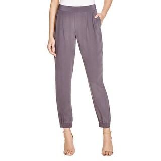 Joie Womens Lupella Jogger Pants Silk Double Pleat