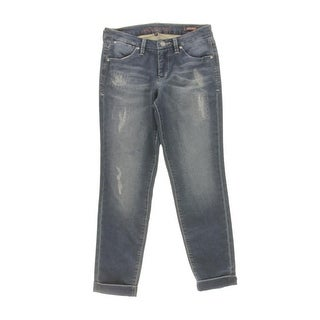 Jag Jeans Womens Ankle Jeans Distressed Low Rise - 8