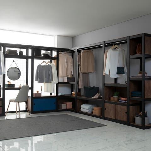 Aurora Home 5Shelf Customizable Modular Shelving and Storage