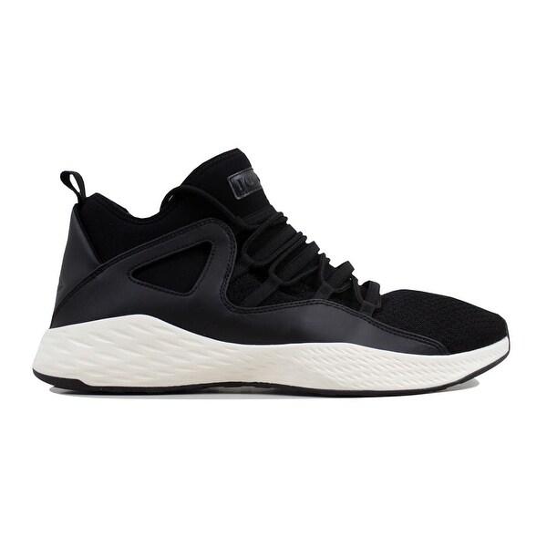 6e96c97bc625d2 Shop Nike Men s Air Jordan Formula 23 Black Black-Sail 881465-005 ...