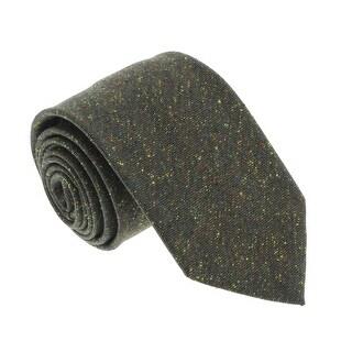 Missoni U5122 Olive Twill 100% Silk Tie - 60-3