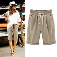 Summer Loose Drawstring Shorts