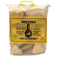 Western 78104 Pinon Wood Mini Logs, 0.5 Cu. Ft.