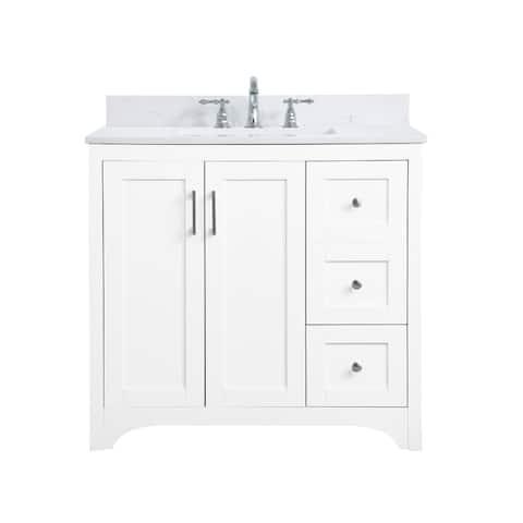 Mathias Bathroom 36 Inch Vanity Set
