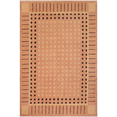 """Boho Chic Ziegler Kimbery Hand Knotted Area Rug -8'1"""" x 9'8"""" - 8 ft. 1 in. X 9 ft. 8 in."""