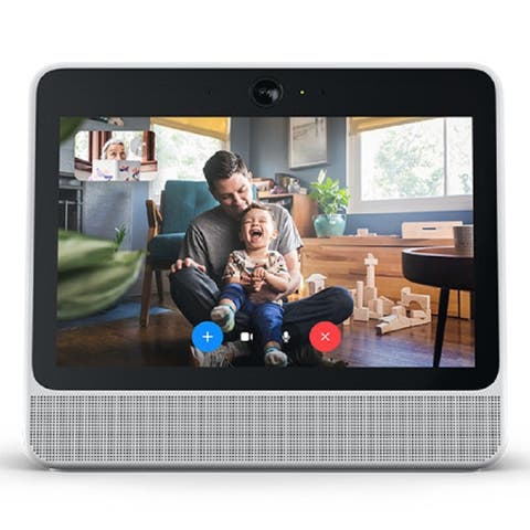 Portal from Facebook Smart, Hands-Free Video Calling w/ Alexa (White)