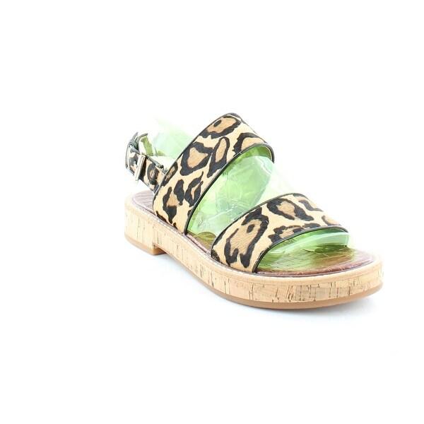 Sam Edelman Nala Women's Sandals & Flip Flops Leopard