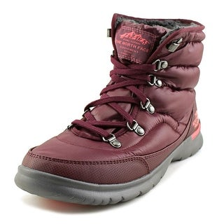 The North Face Thermoball Lace II Women Round Toe Synthetic Purple Winter Boot