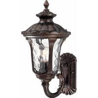 "Volume Lighting V8462 Tavira 1-Light 18.5"" Height Outdoor Wall Sconce - Vintage Bronze - n/a"