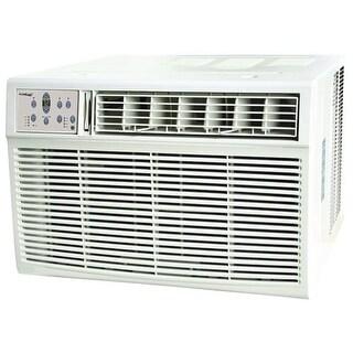 Koldfront WAC25001W 25000 BTU 220V Window Air Conditioner with 16000 BTU Heater and Remote Control