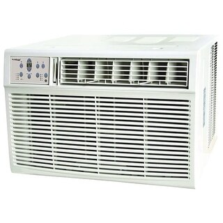 Koldfront WAC25001W 25000 BTU 220V Window Air Conditioner with 16000 BTU Heater and Remote Control