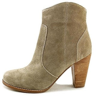 Joie Womens Dalton Suede Stacked Ankle Boots - 40 medium(b,m)