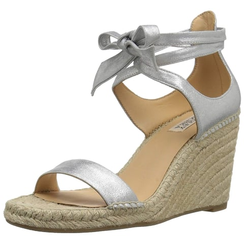 Badgley Mischka Women's Berkley Espadrille Wedge Sandal - 8
