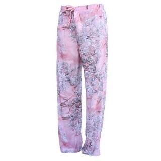 King's Camo Pink Shadow Women's Lounge PJ Pants