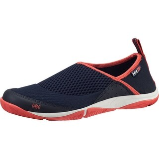 Helly Hansen 2016 Women's Watermoc 2 Wet Shoes - (Navy/Sorbet/Night Blue) - 11122_597 - navy/sorbet/night blue