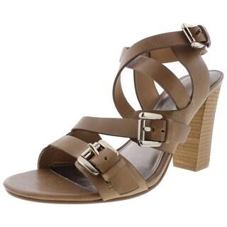 BELLE by Sigerson Morrison Womens Dress Heels Leather Buckle - 10 medium (b,m)