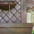 Sunnydaze Rosette Leaf Outdoor Wall Fountain, 31 Inch Tall - Thumbnail 8