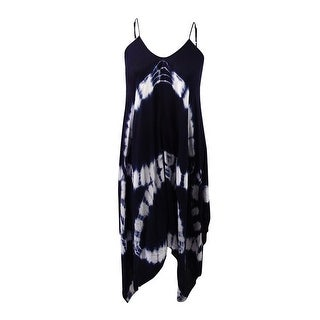 Raviya Women's Tie-Dye Handkerchief Maxi Dress Cover-Up (More options available)