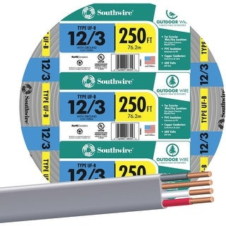 Southwire 250 12-3 Ufw/G Wire
