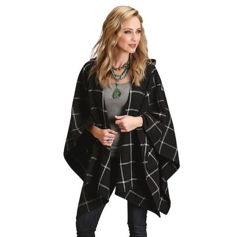 Stetson Western Sweater Womens Serape Cardigan