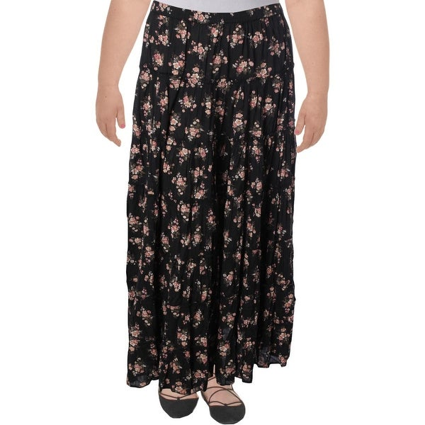 bb146ad6c9 Shop Denim & Supply Ralph Lauren Womens Maxi Skirt Floral Tiered - XL -  Free Shipping On Orders Over $45 - Overstock - 20774661