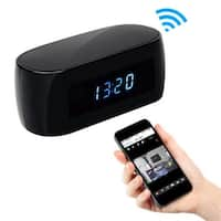 Clock Hidden Camera, P2P-WiFi Controlled & Viewed by Cell Phones