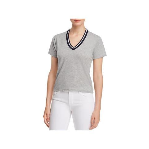 Project Social T Womens Noah T-Shirt Casual V-Neck