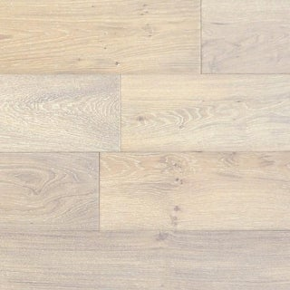 "Mission - 7-1/2"" Engineered Hardwood Flooring - Handscraped White Oak Wood - Sold by Carton (36 SF/Carton) - N/A (More options available)"