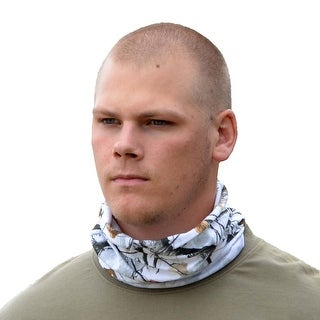 Legendary Whitetails Men's Camo Neck Gaiter Big Game Camo