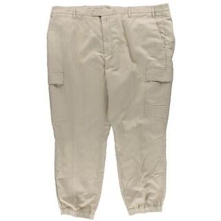 Polo Ralph Lauren Mens Big & Tall Khaki Pants Classic Fit Comfort Waist