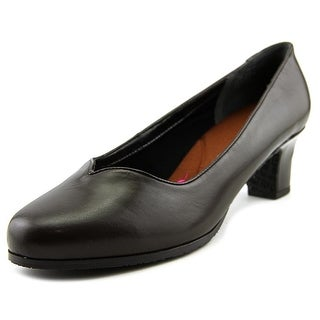 Ros Hommerson Hayden Round Toe Leather Heels