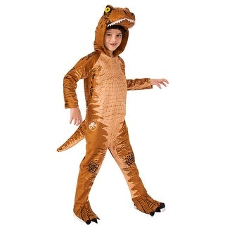 Kids Jurassic World T-Rex Oversized Jumpsuit Costume