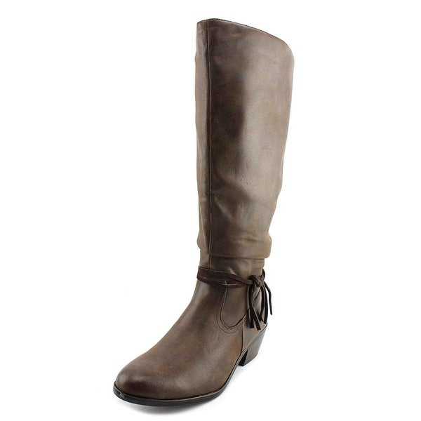 Kim Rogers Perri Women Dark Brown Boots