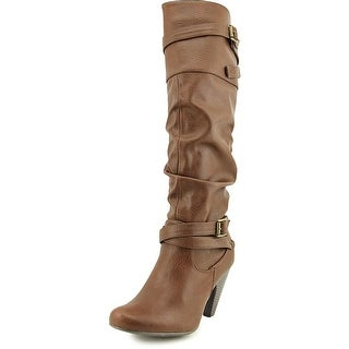 Dolce by Mojo Moxy Nellie W Round Toe Synthetic Knee High Boot