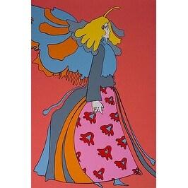 Angel, Vintage Ltd Ed Silk-screen, Peter Max