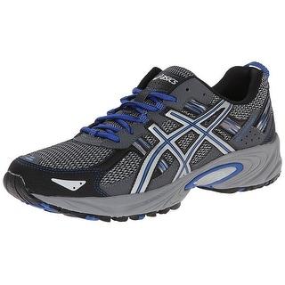 ASICS Men's Gel Venture 5 Running Shoe, Silver/Light Grey/Royal