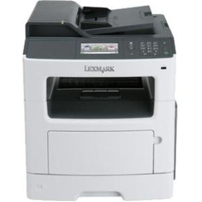 Lexmark Mx417de Monochrome All-In One Laser Printer, Scan, Copy, Network Ready, Duplex Printing And Professional Feature