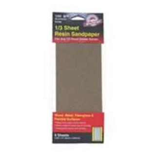 Gator 5040 Multi-Purpose Sandpaper 1/3 Sheet, 220 Grit