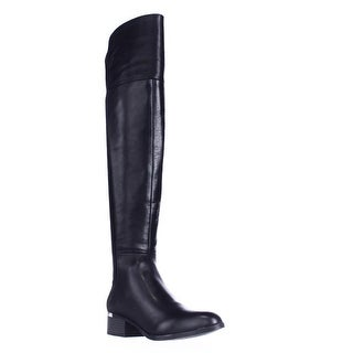 B35 Rene Over The Knee Boots - Black
