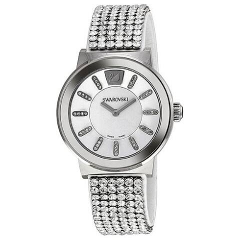 Swarovski Men's 1094348 'Piazza' Crystal Stainless Steel Watch