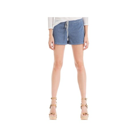 Max Studio Womens Natalie Casual Shorts French Terry Heathered