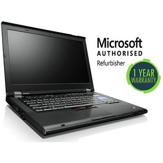 "Lenovo T420s i7-2620M 2.7 GHz 8GB 320 GB 14"" Win 7 Pro B-Grade Refurbished"