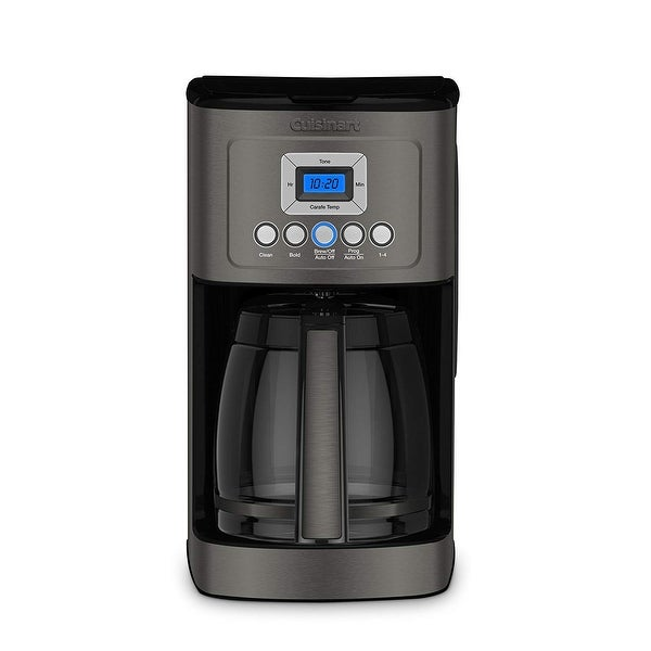Cuisinart DCC-3200BKSFR Perfectemp 14-Cup Programmable Coffee Maker, Black Stainless Steel