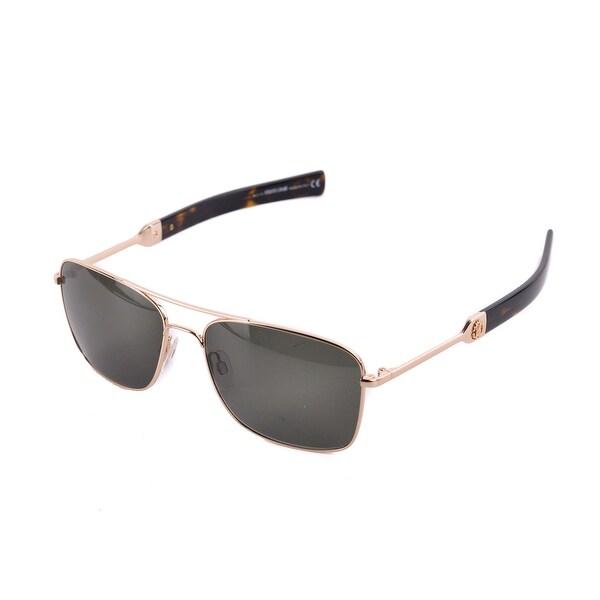 bb1b482b55018 Roberto Cavalli Men  x27 s RC1020 Gold Metal Green Lens Aviator Sunglasses  RTL 310