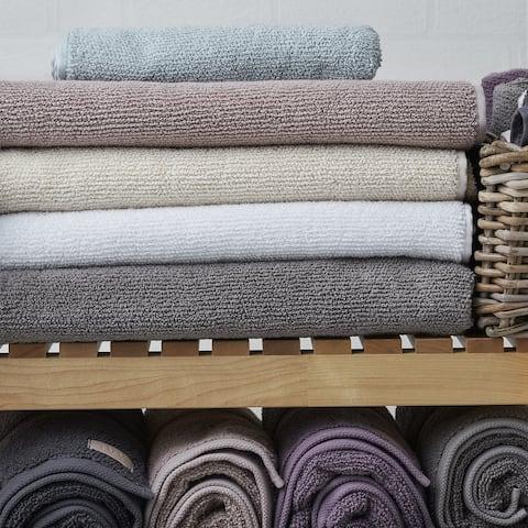 Rice Effect Turkish Aegean Cotton Towel Set of 16